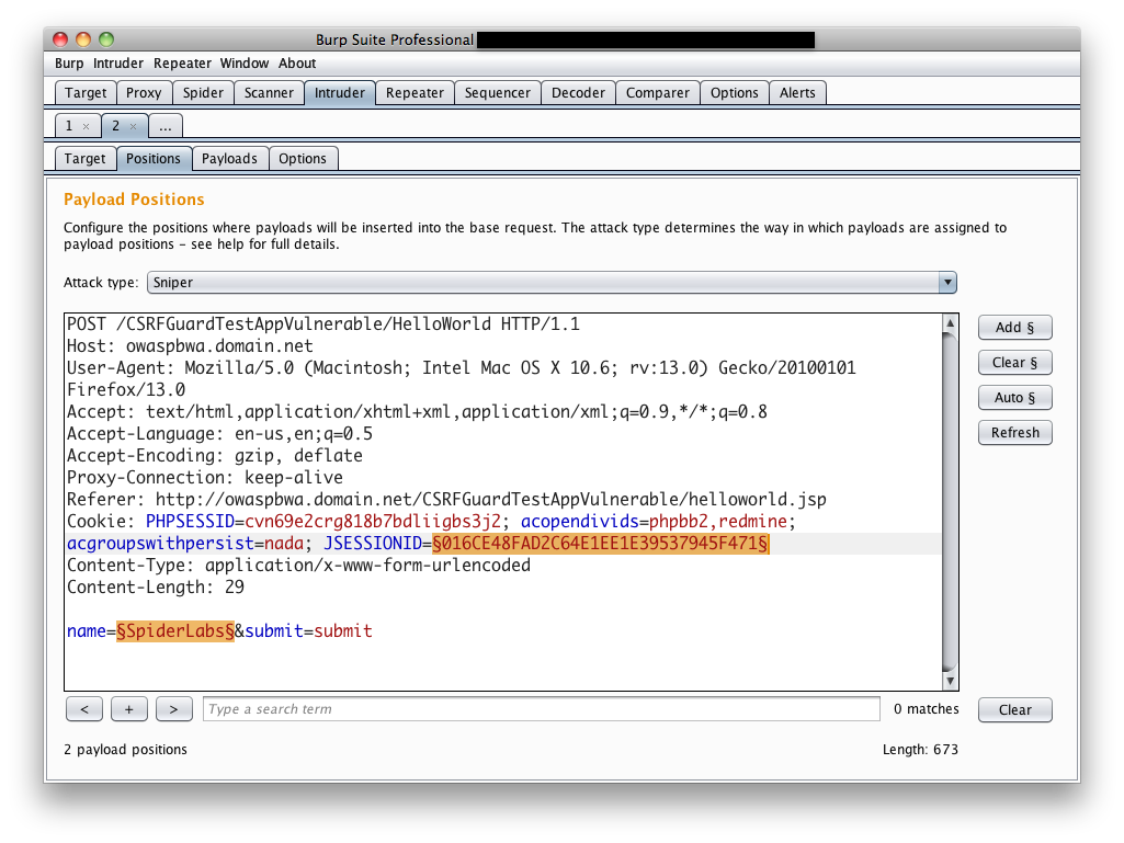 Adding anti csrf support to burp suite intruder burps intruder works perfectly when the application responds to those requests as if they came from the user the screenshot above shows the submission of 1betcityfo Images