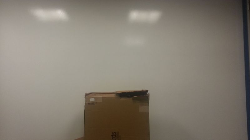 1 dry erase wall