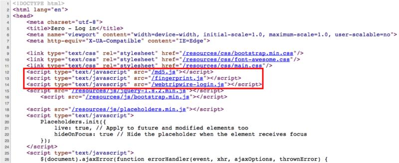 Fraud-code-html