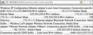 Web_shell_ipconfig