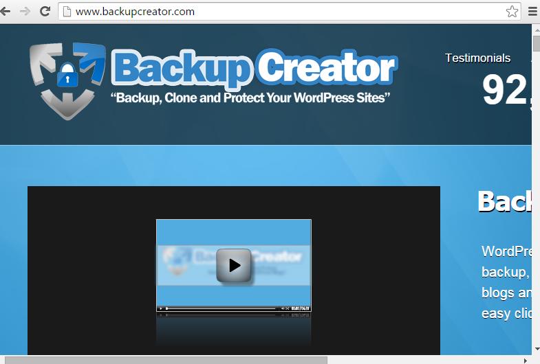 BackupCreator
