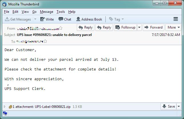 Spammed JScript Phones Home To Download NemucodAES And Kovter