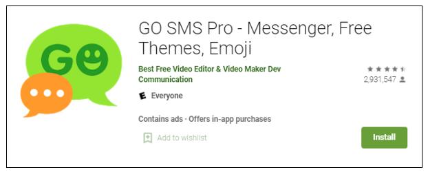 Go sms pro - google play